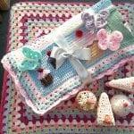 Tığ İşi Bebek Battaniyesi Modelleri 19