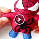 Türkçe Videolu, Keçeden Örümcek Adam Yapılışı
