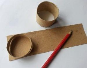 Tuvalet Kağıdı Rulosundan Kutu Yapımı 9