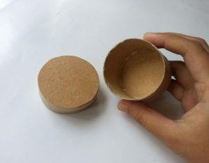Tuvalet Kağıdı Rulosundan Kutu Yapımı 1