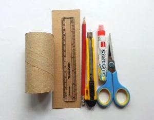 Tuvalet Kağıdı Rulosundan Kutu Yapımı 2