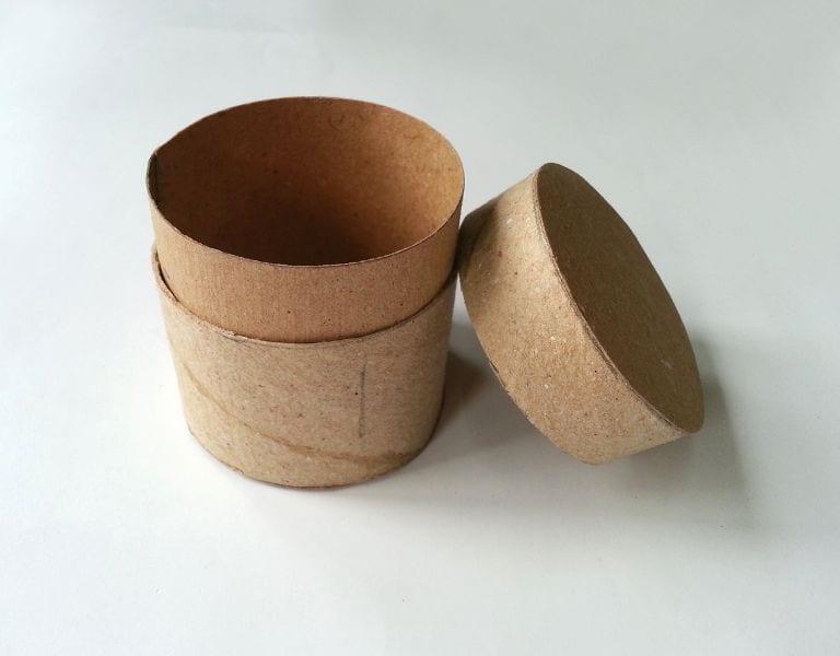 Tuvalet Kağıdı Rulosundan Kutu Yapımı
