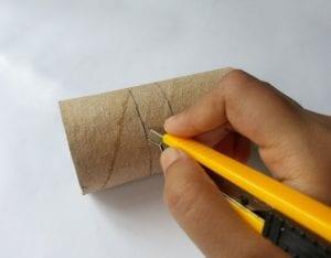 Tuvalet Kağıdı Rulosundan Kutu Yapımı 6