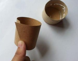 Tuvalet Kağıdı Rulosundan Kutu Yapımı 7