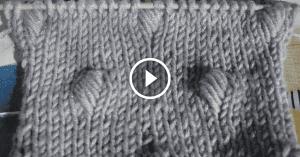 Videolu, Deniz Minaresi Örgü Modeli Yapılışı