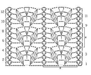 Yaprak Desenli Örgü Tunik Yapımı 10