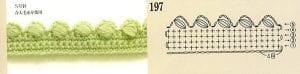 Yaprak Desenli Örgü Tunik Yapımı 12
