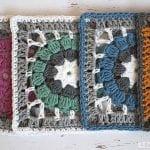 Afgan Motifli Bebek Battaniyesi Yapımı 14