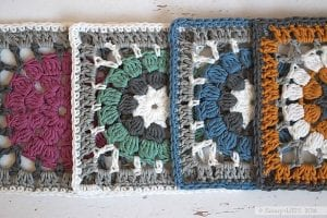 Afgan Motifli Bebek Battaniyesi Yapımı
