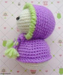 Amigurumi Kostümlü Tavşan Yapılışı 4