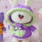Amigurumi Kostümlü Tavşan Yapılışı 8