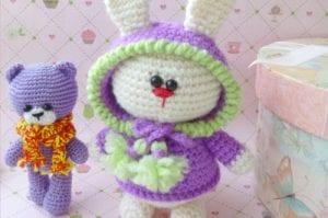 Amigurumi Kostümlü Tavşan Yapılışı