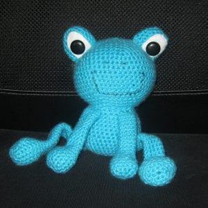 Amigurumi Kurbağa Yapımı 1