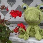 Amigurumi Kurbağa Yapımı 7
