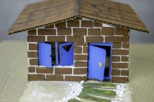 Basit Maket Ev Yapımı 5