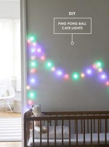 DIY, Pinpon Topundan Funny Lights Yapımı