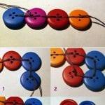 Düğme İle Yapılan Süslemeler 95