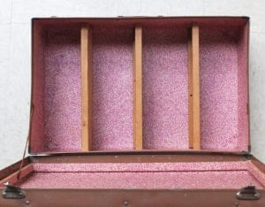 Eski Bavuldan Kara Tahta Yapılışı