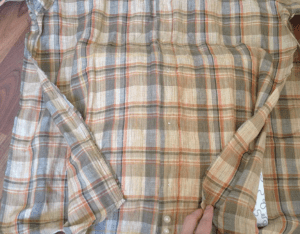 Eski Gömlekten Kırlent Yapımı 2