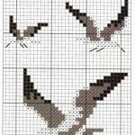 Etamin Şablonları Kuş Desenleri 9