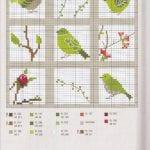 Etamin Şablonları Kuş Desenleri 97