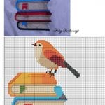 Etamin Şablonları Kuş Desenleri 104