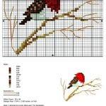 Etamin Şablonları Kuş Desenleri 15