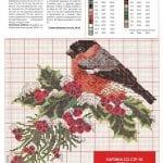 Etamin Şablonları Kuş Desenleri 17