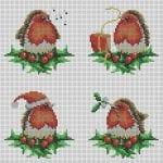 Etamin Şablonları Kuş Desenleri 18
