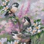 Etamin Şablonları Kuş Desenleri 19