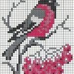 Etamin Şablonları Kuş Desenleri 23
