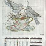 Etamin Şablonları Kuş Desenleri 25