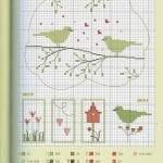 Etamin Şablonları Kuş Desenleri 26
