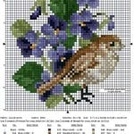 Etamin Şablonları Kuş Desenleri 29