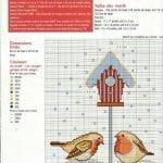 Etamin Şablonları Kuş Desenleri 30