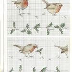Etamin Şablonları Kuş Desenleri 33