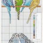 Etamin Şablonları Kuş Desenleri 38