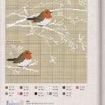 Etamin Şablonları Kuş Desenleri 42