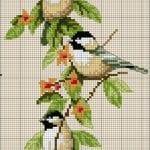 Etamin Şablonları Kuş Desenleri 43