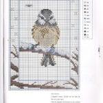 Etamin Şablonları Kuş Desenleri 52
