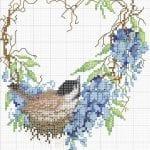 Etamin Şablonları Kuş Desenleri 56