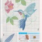 Etamin Şablonları Kuş Desenleri 55
