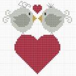 Etamin Şablonları Kuş Desenleri 57