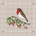 Etamin Şablonları Kuş Desenleri 58