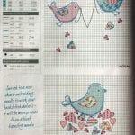 Etamin Şablonları Kuş Desenleri 64