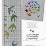 Etamin Şablonları Kuş Desenleri 6