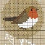Etamin Şablonları Kuş Desenleri 69