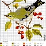 Etamin Şablonları Kuş Desenleri 71