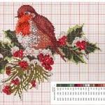 Etamin Şablonları Kuş Desenleri 77