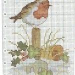 Etamin Şablonları Kuş Desenleri 76